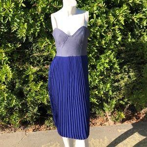 NWT Velvet Heart Color block dress